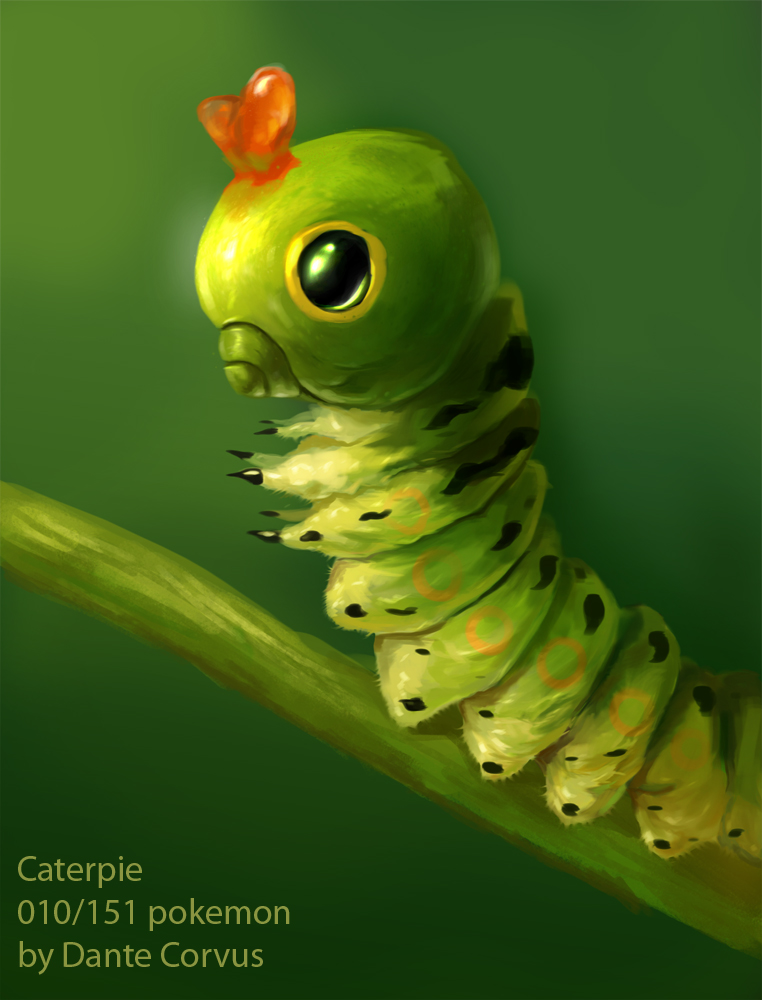Caterpie by DanteCyberMan