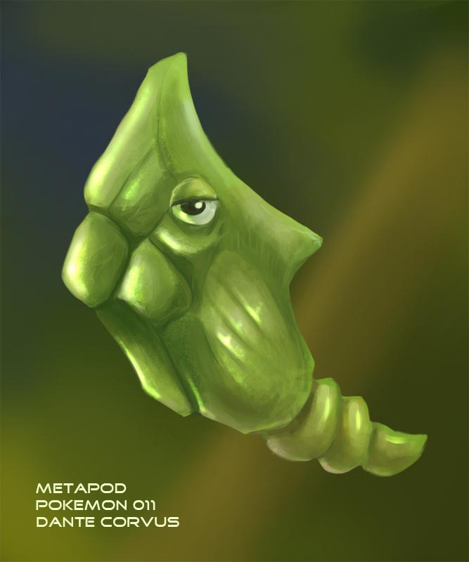 Metapod by DanteCyberMan
