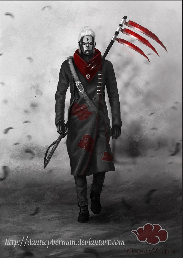 Hidan  warrior organization Akatsuki (redesign)