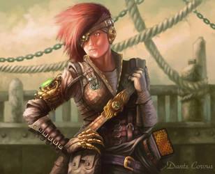GoldEye Jack, Dragon Masters by DanteCyberMan