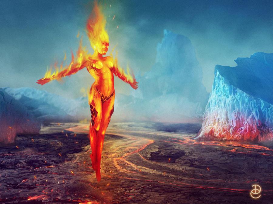 Hot girl by DanteCyberMan