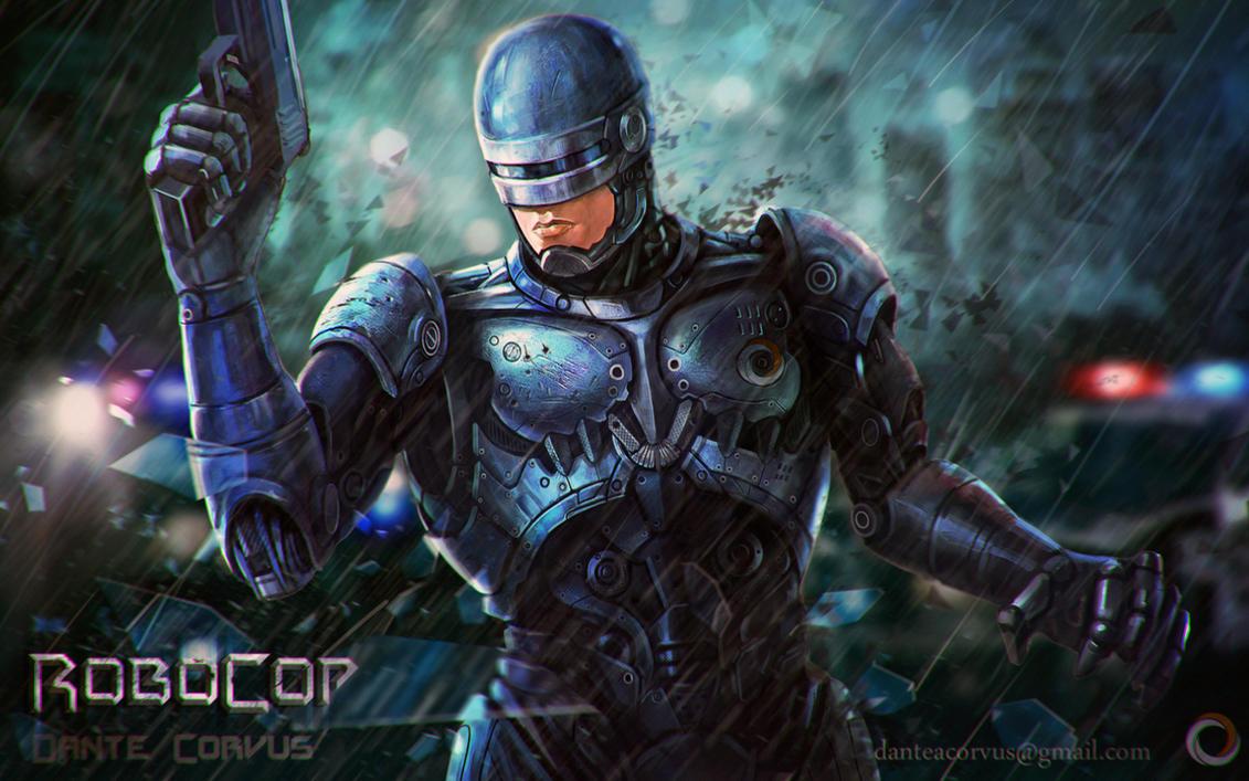 RoboCop Fan Art by DanteCyberMan