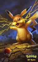 025 Pikachu by DanteCyberMan