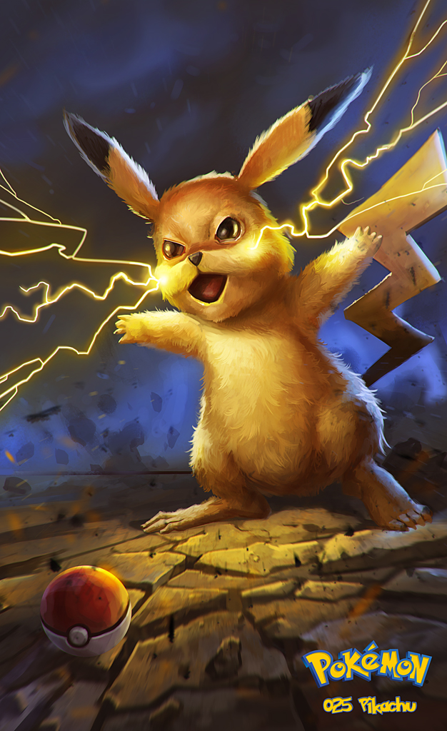 025 Pikachu by DanteCyberMan