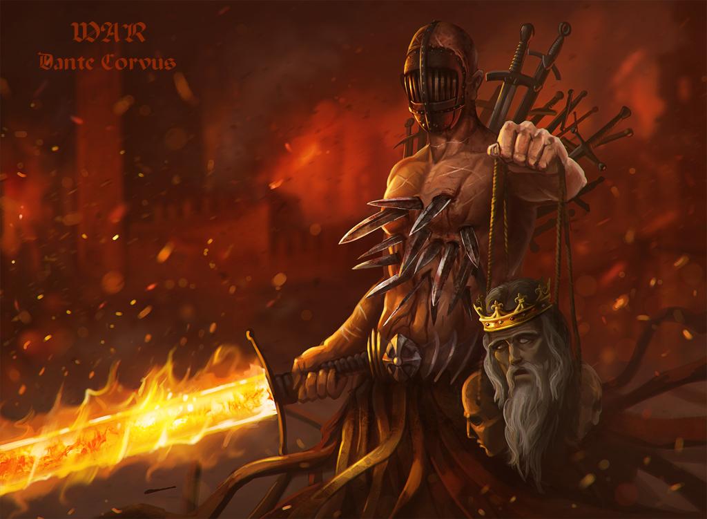 Four Horsemen War War - Four Horsemen of...
