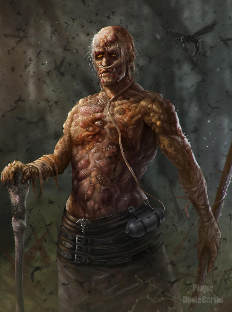 Plague Horsemen of the Apocalypse by DanteCyberMan