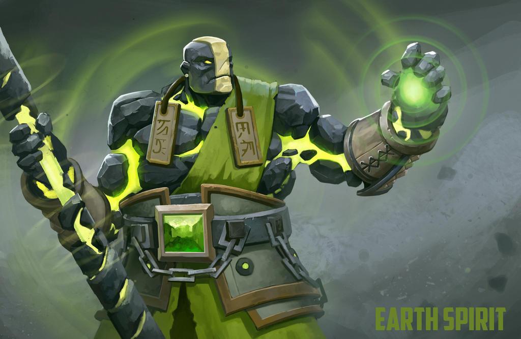 Earth Spirit dota2 by DanteCyberMan
