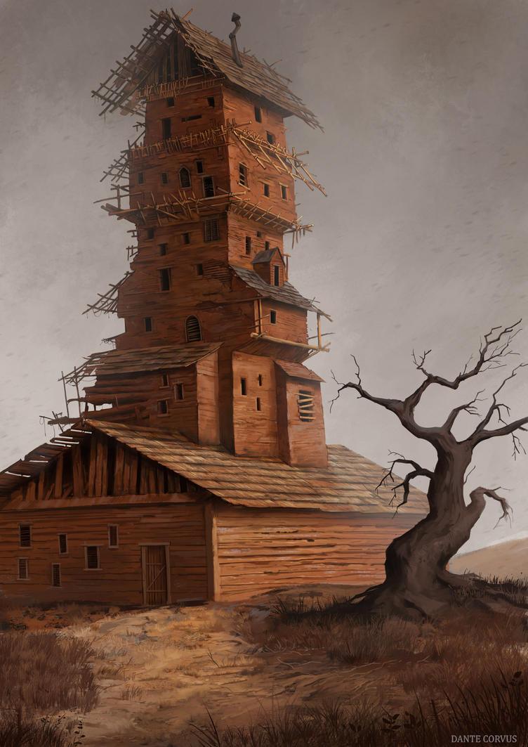 The House by DanteCyberMan