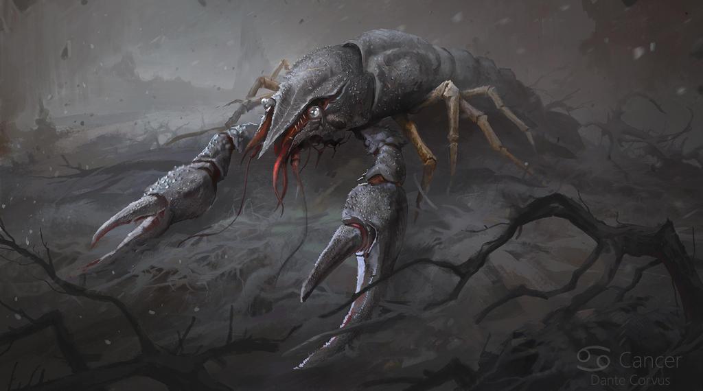 cancer(zodiac) by DanteCyberMan