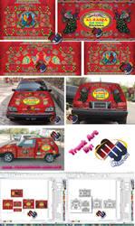 Truck Art for Vehicles by MohsinBadshah