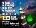 Prophet Muhammad (Peace Be Upon Him) Followers. by MohsinBadshah