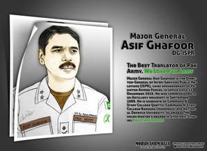Major Asif Ghafoor_The Best Translator of Pakistan
