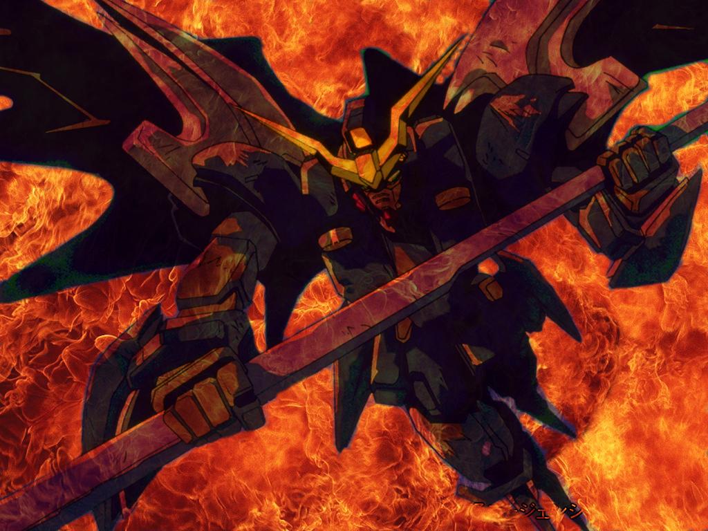 Deathscythe Hell Spawn By MegaGundam7778
