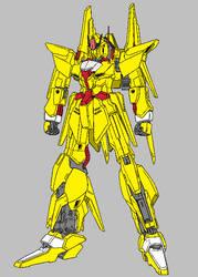 Delta Gundam Rie Custom by MegaGundam7778