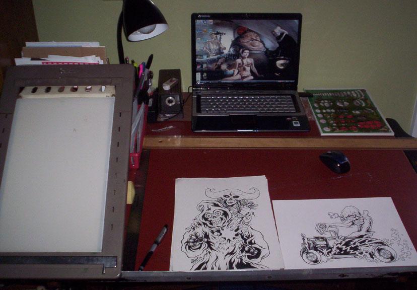 Chops' Desktop by MonsterInk