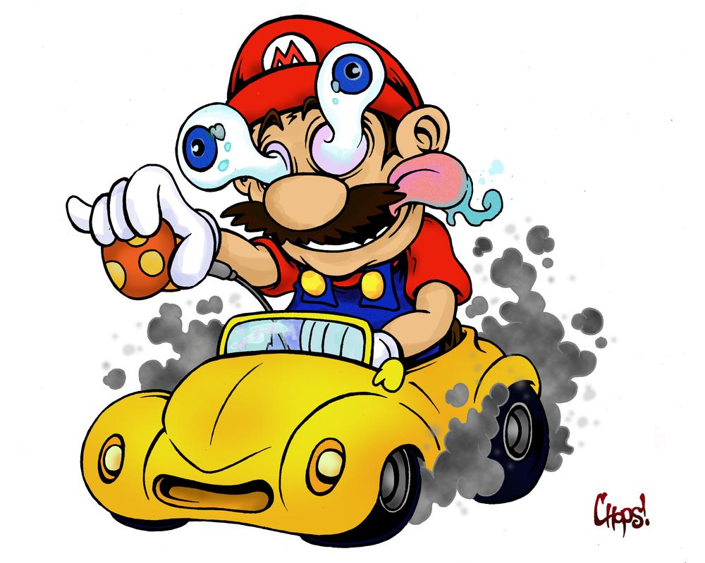 Mario Fink by MonsterInk