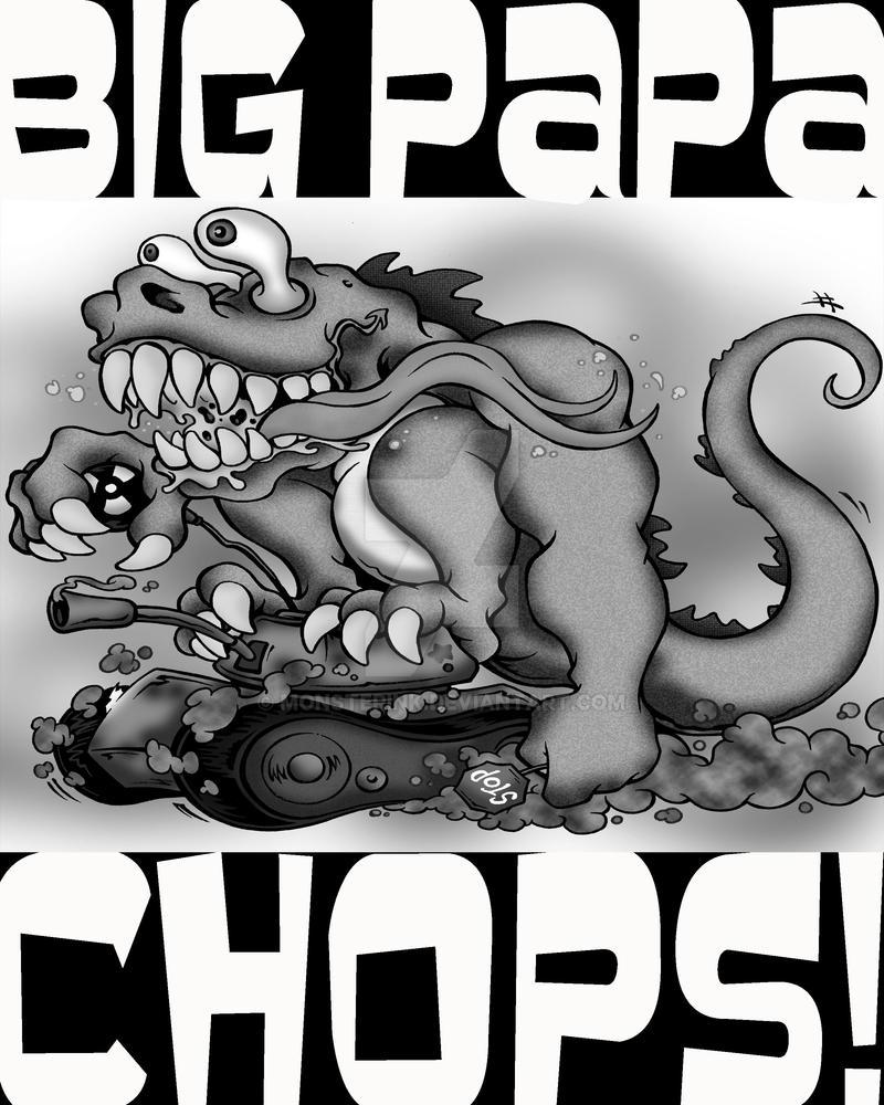 Big Papa Chops Stomp by MonsterInk
