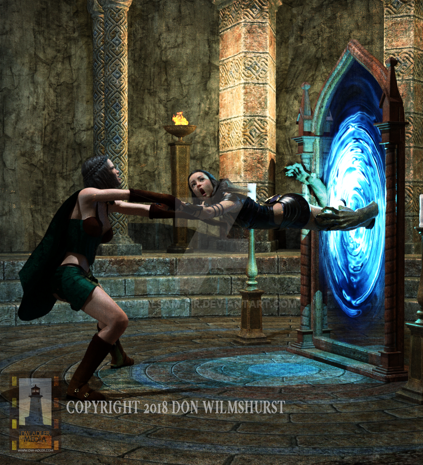 Beware The Portal by Balsam-fir