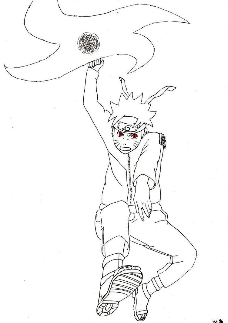 Naruto rasen shuriken by wawan 96 on deviantart - Shuriken dessin ...