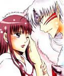 old work - Sesshomaru and Kikyo
