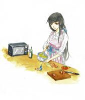 housewife Kikyo by HuoYanXing