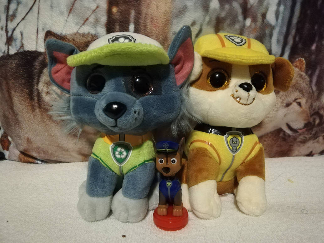 My tiny paw patrol collection by FaraWolfdog
