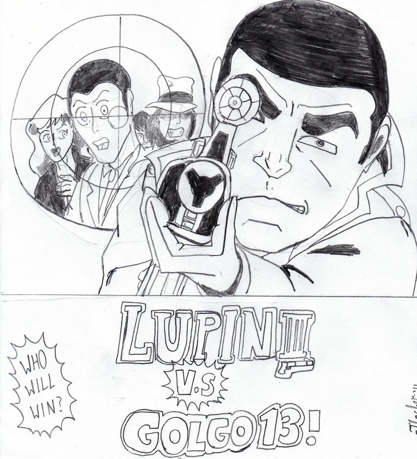 Golgo 13 Gun: LUPIN III VS GOLGO 13 By Arak-8 On DeviantArt