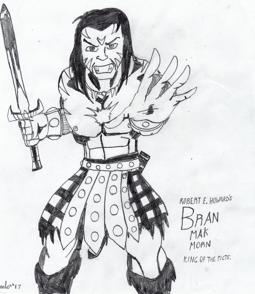 Bran Mak Morn by Arak-8