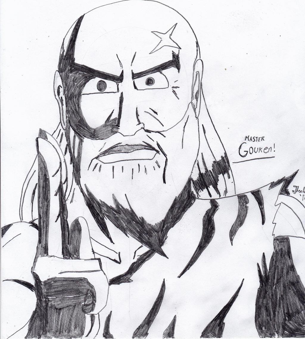 Master Gouken by Arak-8