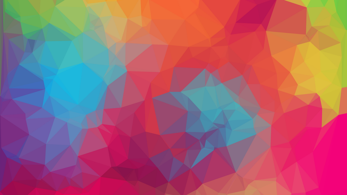 Wallpaper geometric color 9 2k uhd by airworldking on - Geometric wallpaper colorful ...