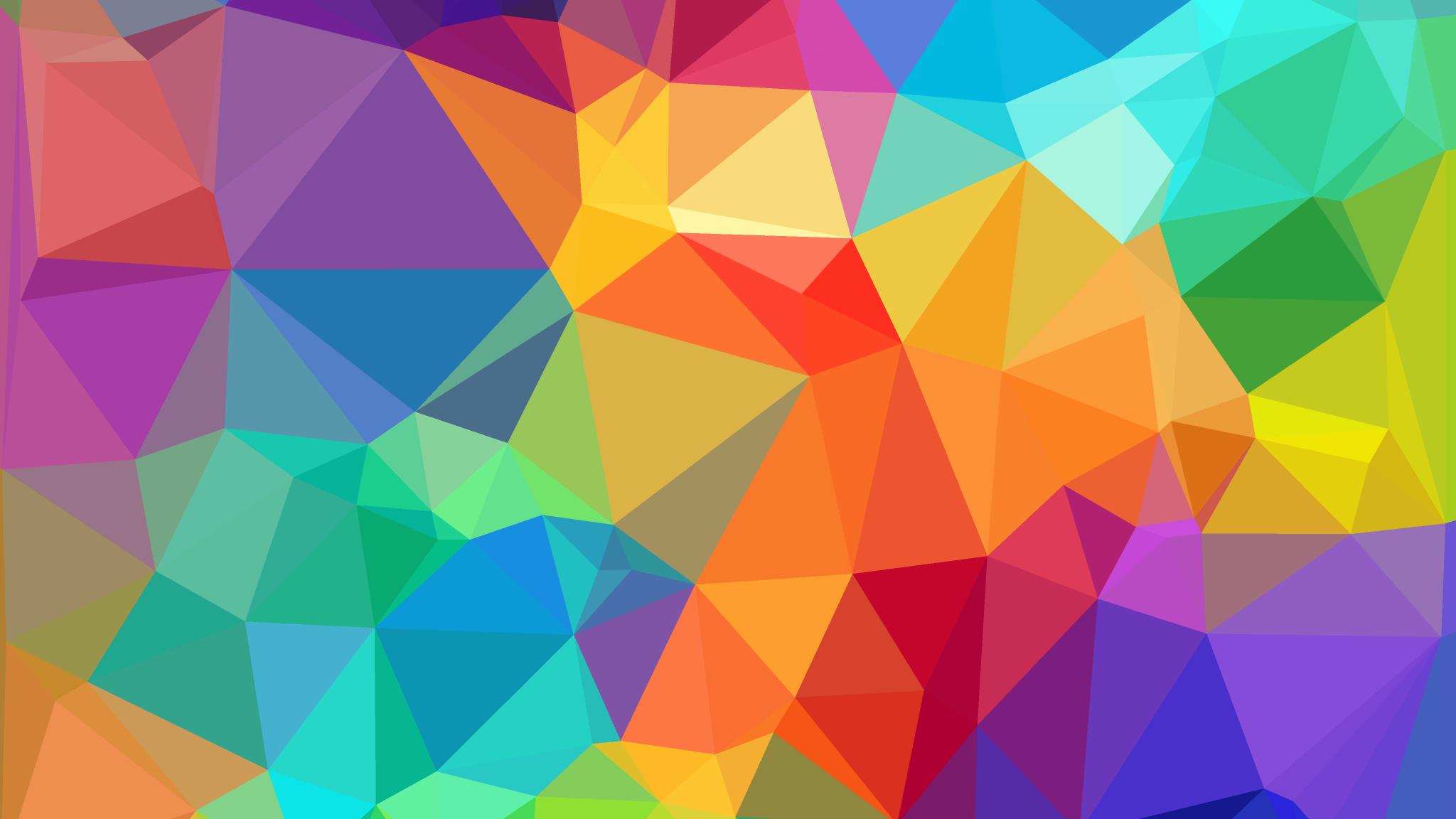 Geometric Wallpaper on WallpaperGet.com