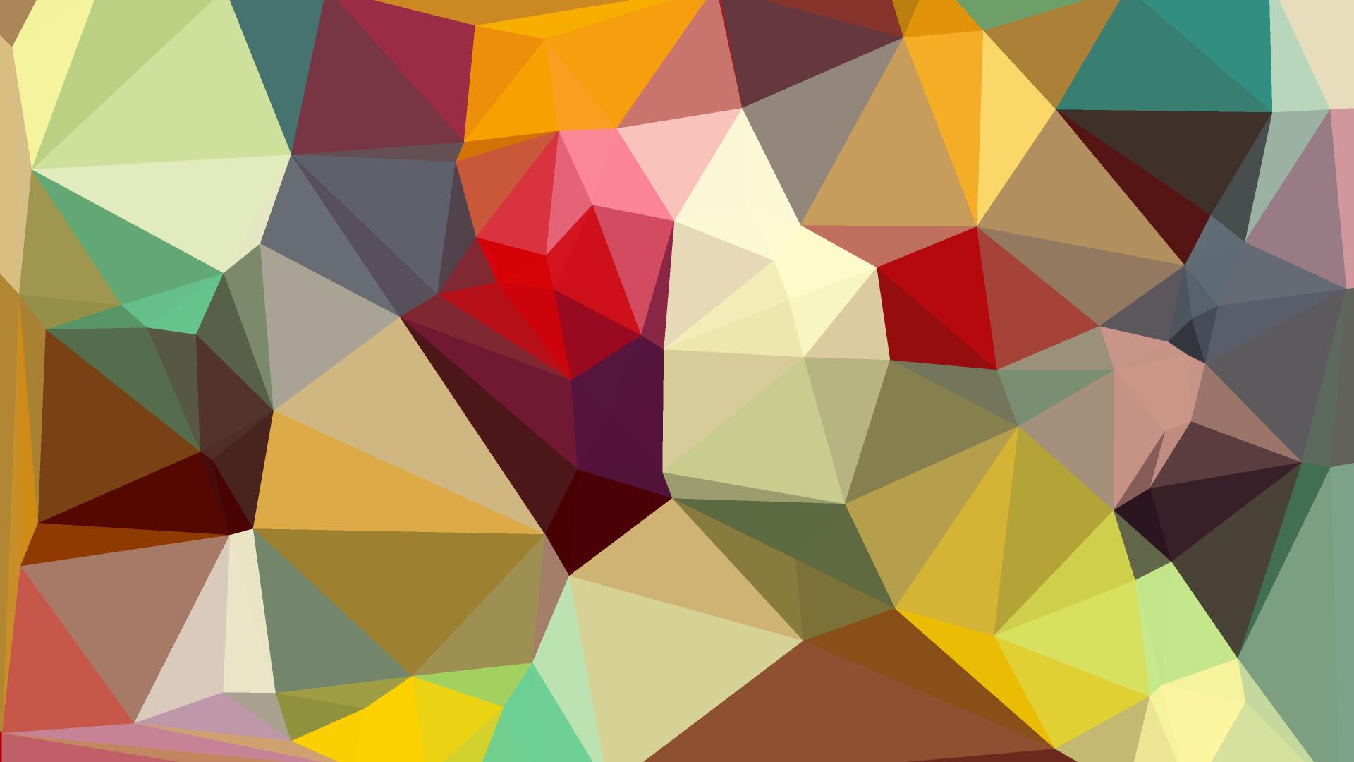 Geometric Shapes Wallpaper 195 1920x1080 - uMad.com