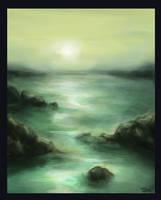 Calm Sea by tashlowiussy