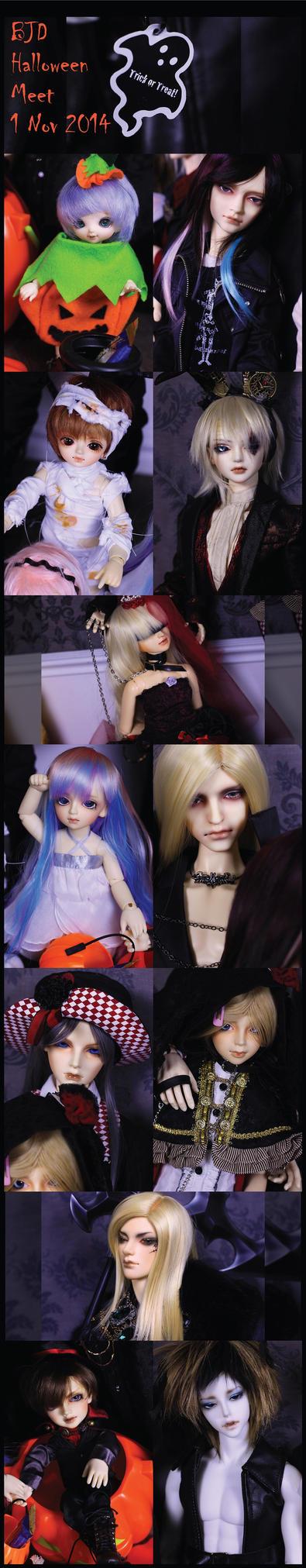 BJD Halloween Meet 2014 - I by eli-star