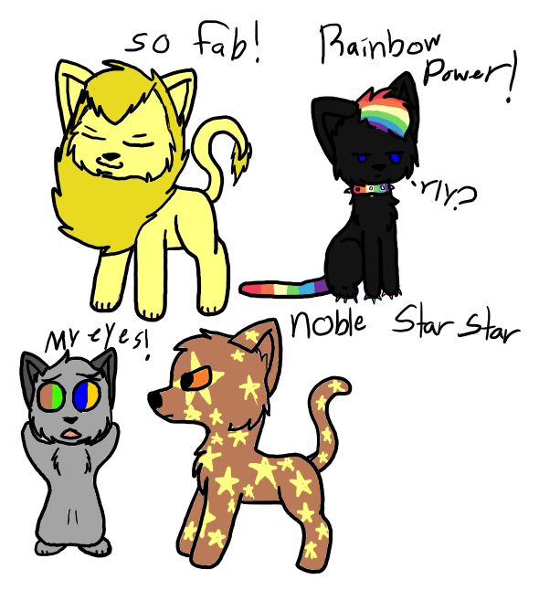 amazing warrior cats! by puppyhowler