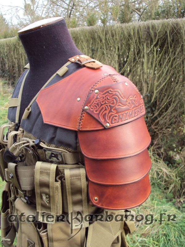 epaulette pour airsoft - Airsoft pauldron by Karbanog