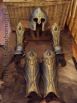 preview - armure de maitre d'arme - sword master
