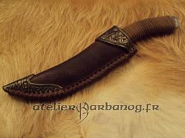 Larp knife sheath by Karbanog