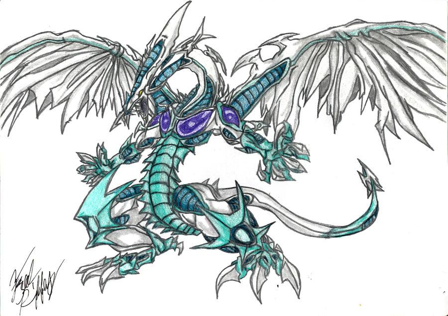 Yugioh 5ds Stardust Dragon Wallpaper Stardust dragon    byYugioh 5ds Dragon Wallpaper