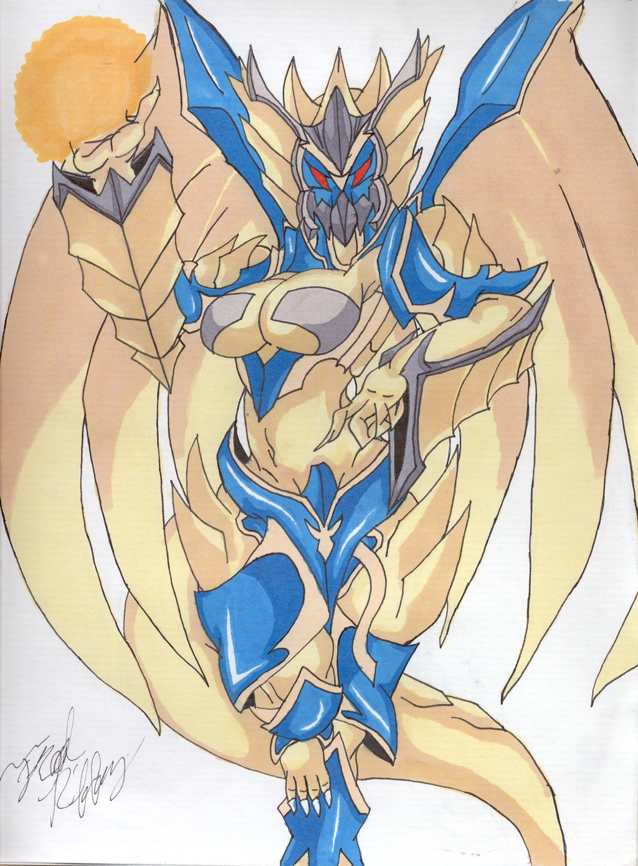 Soul Saver Dragon by LordObelisk