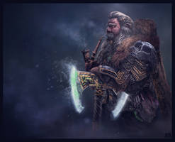 Dwarf Lord by AhmetCanKahraman