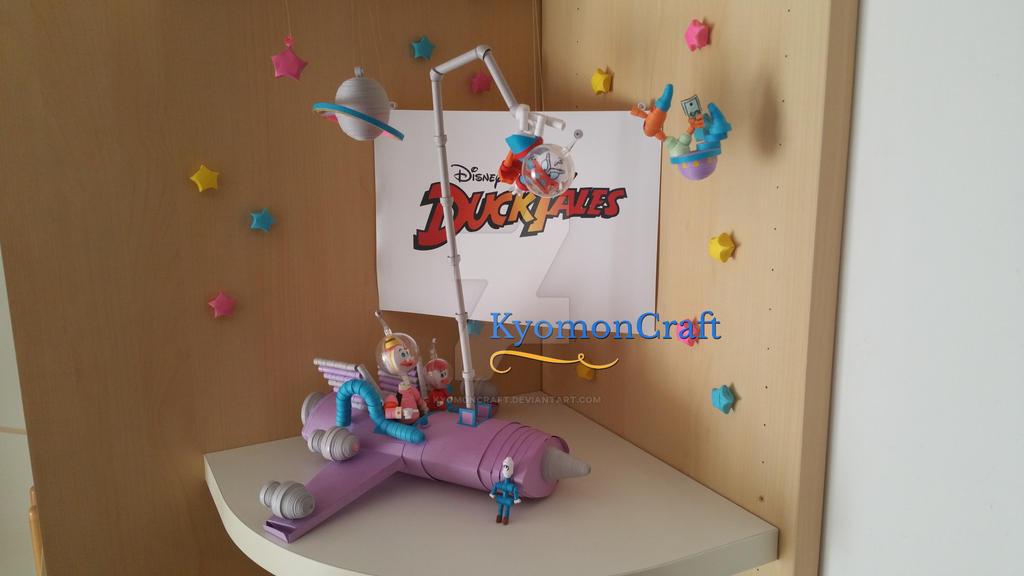 Paper Craft Duck Bill