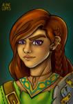 Female dwarf - Let's play RPG!