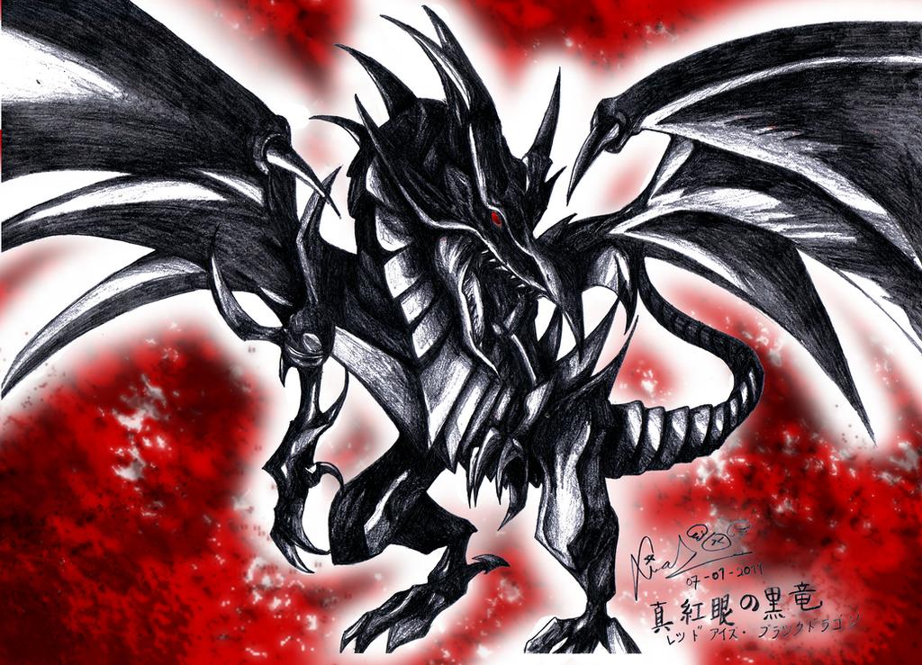 deviantART: More Like Red Eyes Black Dragon by firekyuubisasuke