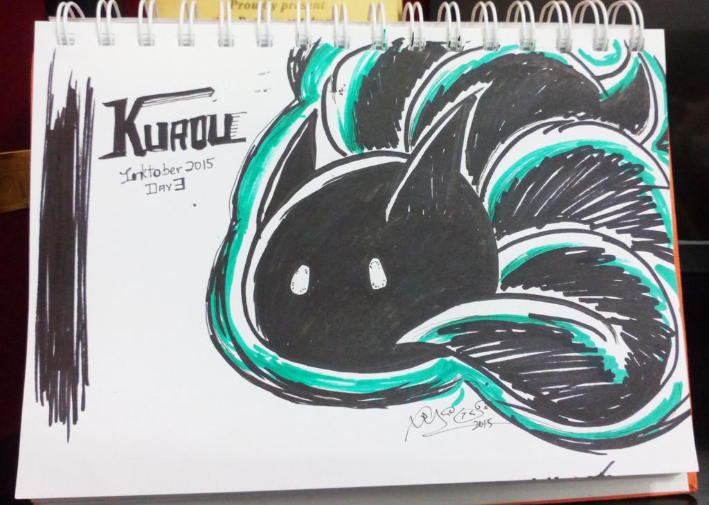 Inktober D3 - Kuroll by firekyuubisasuke
