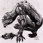 Shadow Monster by Xenocide666