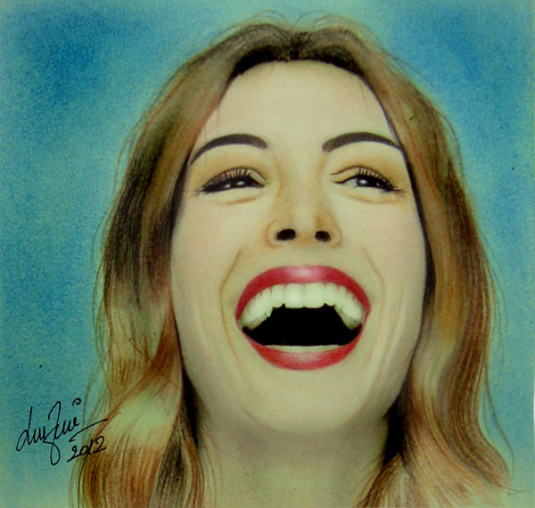 Anne Hathaway Laugh By Zied8008 On DeviantArt