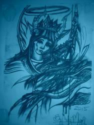 Mother Mary Santalina by CodyMajor69