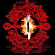 Flaming Eye by DraeX