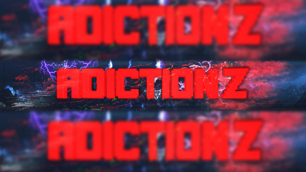 [Banner] ADICTION Z by CandyManEditor